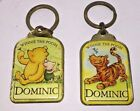DISNEY KEYRING 'DOMINIC' - WINNIE THE POOH & FRIENDS DESIGN ENAMELLED KEYRINGS