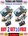 Panini THOMAS AND FRIENDS STICKERS THOMAS THE TANK ENGINE Buy 4 get 10 FREE!!!!