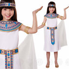 GIRLS EGYPTIAN QUEEN FANCY DRESS COSTUME CLEOPATRA EGYPT CHILDS BN KIDS OUTFIT