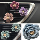 Universal Car Camellia Styling Perfume Clip Air Outlet Freshener Car Ornament