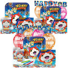 Yo-Kai Watch Kids Birthday Party Pack Tableware Kits - For 8 or 16 Guests