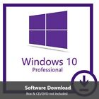 Windows 10 Pro 32/64 bit Lifetime Product Key Win 10