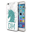Personalised Green UNICORN Head Phone Case Cover for Various Mobile Phones