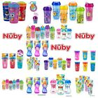 Nuby No Spill Toddler Insulated Cups & Beaker - Sipeez Flip It/Spout Beaker