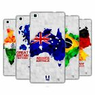 HEAD CASE DESIGNS GEOMETRIC MAPS HARD BACK CASE FOR HUAWEI PHONES 1