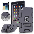 Shockproof Military Heavy Duty Rubber With Stand Case For Apple iPad 2nd 3rd Gen