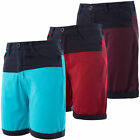 Mens Soulstar Casual Contrast Two Colour Chino Style Shorts Summer Roll Up
