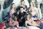 35m-14795 Roger Moore Mary Stavin Carole Ashby Jani-Z and the babes James Bond f $9.99 USD
