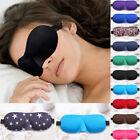 Soft Padded 3D Design Eye Sleep Mask Aid Shade Cover Blindfold For Rest Travel