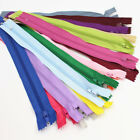 "10 x Nylon Closed End Zips 9"" Invisable Zipper Concealed Sewing Dress Craft"