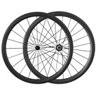 1350g Road Bike Powerway R13 Hub 424 Cnspoke 38mm Clincher Tubular Carbon Wheels
