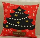 Christmas Digital Printing Cotton Linen Pillowcase New