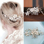 Bridal Hairclip Wedding Party Accessories White Hair Comb Clip Pearl Hairpins