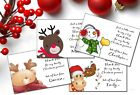 Cute Christmas Thank you cards x 10 (W206A - W206H)  Baby, Child