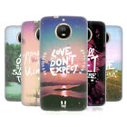 HEAD CASE DESIGNS THOUGHTS TO PONDER SOFT GEL CASE FOR MOTOROLA MOTO G5S