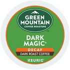 Green Mountain Coffee Dark Magic Decaf Extra Stout-hearted Coffee Keurig 2.0 K-Cups NEW