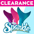 Clearance Sparkle Mermaid Tail Skin by Fin Fun, with or without Monofin