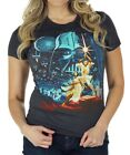 Womens Star Wars Classic Vintage Black T-Shirt $17.98 USD