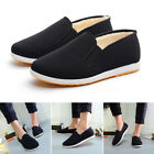 Men Comfortable Thicken Warm Canvas Flat Slip On Casual Shoes Sneaker Shoes SALE