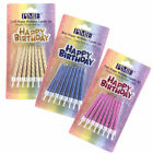 PME - Happy Birthday Candle Set - Pack of 16 Candles with Motif