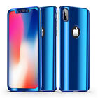 Armor Ultra Thin Bling Mirror 360 Full Protection case For iphone X 6s 7 8 Plus
