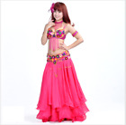 Professional Belly Dance Costumes Performance Outfits Accessories 5pcs set #835