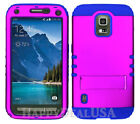 For Samsung Galaxy S5 Active - KoolKase Shockproof Cover Case - Purple (R)