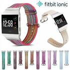 For Fitbit Ionic Leather Replacement Strap Sport Fashion Watchband Accessory