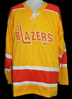 BERNIE PARENT PHILADELPHIA BLAZERS WHA RETRO HOCKEY JERSEY SEWN NEW ANY NAME