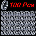 100 Boxed Coin Capsules Coin Display Cases Transparent 18mm to 50 mm
