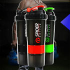 New 600ml Plastic Useful Sport Gym Protein Powder Shaker Mixer Cup Bottle NEW