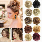 NEW Curly Messy Bun Hair Piece Scrunchie All Colours Hair Bobble Scrunchie FCE