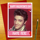 ELVIS PRESLEY Personalised Romantic Card - love valentine's day anniversary
