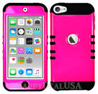 For Apple iPod Touch iTouch 5   6 - KoolKase Hybrid Cover Case - Hot Pink (FL)