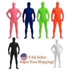 Внешний вид - DH Zentai Suit Men's Spandex Lycra Halloween Full Body Face Covered Costume