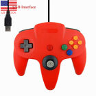 USB Wired Game Controller Gamepad Joypad Joystick For Nintendo 64 N64 MAD
