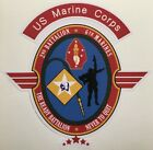 US MARINE CORPS BATTALION AND MARINES UNITS 4 INCHES WATERPROOF DECALS STICKERS