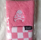 NWT! WOMENS VANS GIRLY SKULL CHECKERBOARD SKATE WRISTBAND ONE SIZE 1 PACK