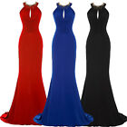 Sexy Fishtail Formal Long Party Evening Ball Gown Cocktail Prom Bridesmaid Dress