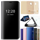 Luxury Mirror Smart S View Flip Leather Case Cover For Samsung Galaxy S9 S9 Plus