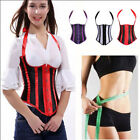 Women Gothic Vintage Corset Top Bustier Lingerie Body Shaper Plus Lace Up Lot