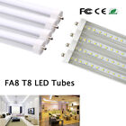 4-100Pack 8ft Foot 40w Single Pin FA8 T8 T12 LED Tube Light CLEAR /Frosted LENS