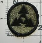 US ARMY OD SUBDUED COMMAND PATCH USED (B3)