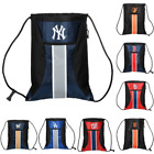 MLB Baseball Team Logo Zipper Drawstring Backpack - Pick Team
