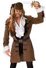 Captain Henry Pirate Coat for Men New - Mens CARNIVAL DISGUISE