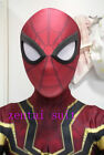 Iron Spiderman Spider-Man Homecoming Halloween Cosplay Costume For Adult/Kids