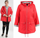 New Look Curves Red Plus Size Waterproof  Mac Rain Coat Jacket Sizes 18-26  NEW