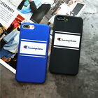 Fashion Streeet Wear Champion Brand Hard Case Cover for iPhone X 6s 7 8 Plus