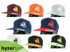 DISCRAFT BUZZZ LOGO FLAT BILL SNAP BACK HAT *pick color* Hyzer Farm disc cap