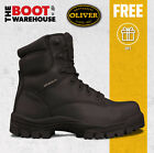 Oliver Work Boots, 45645, Lace-Up, Non-Metal Toe Cap Safety